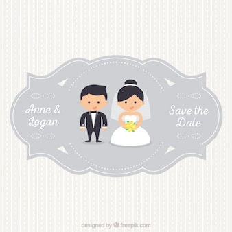 wedding label