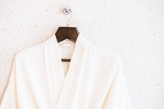 White bathrope