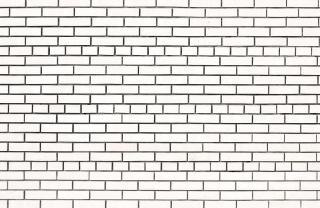 White brick wall   wall