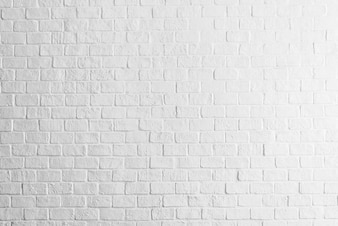White bricks wall texture