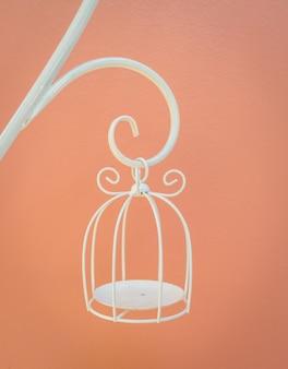 White cage