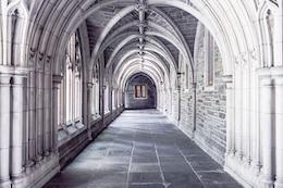 White cloister