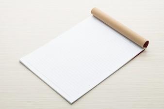 White paper mock up