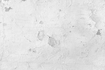 White spoiled wall