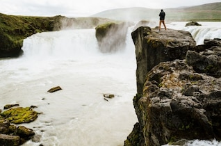 Wild waterfalls