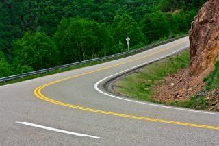 Winding road  lane