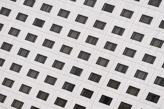 Window pattern textures of building