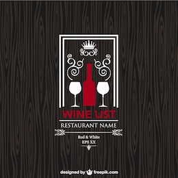 Wine list free design
