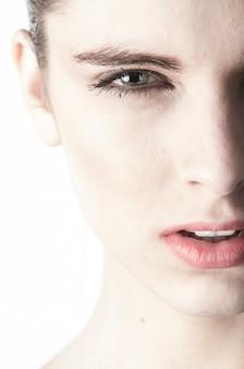 Женщина лицо