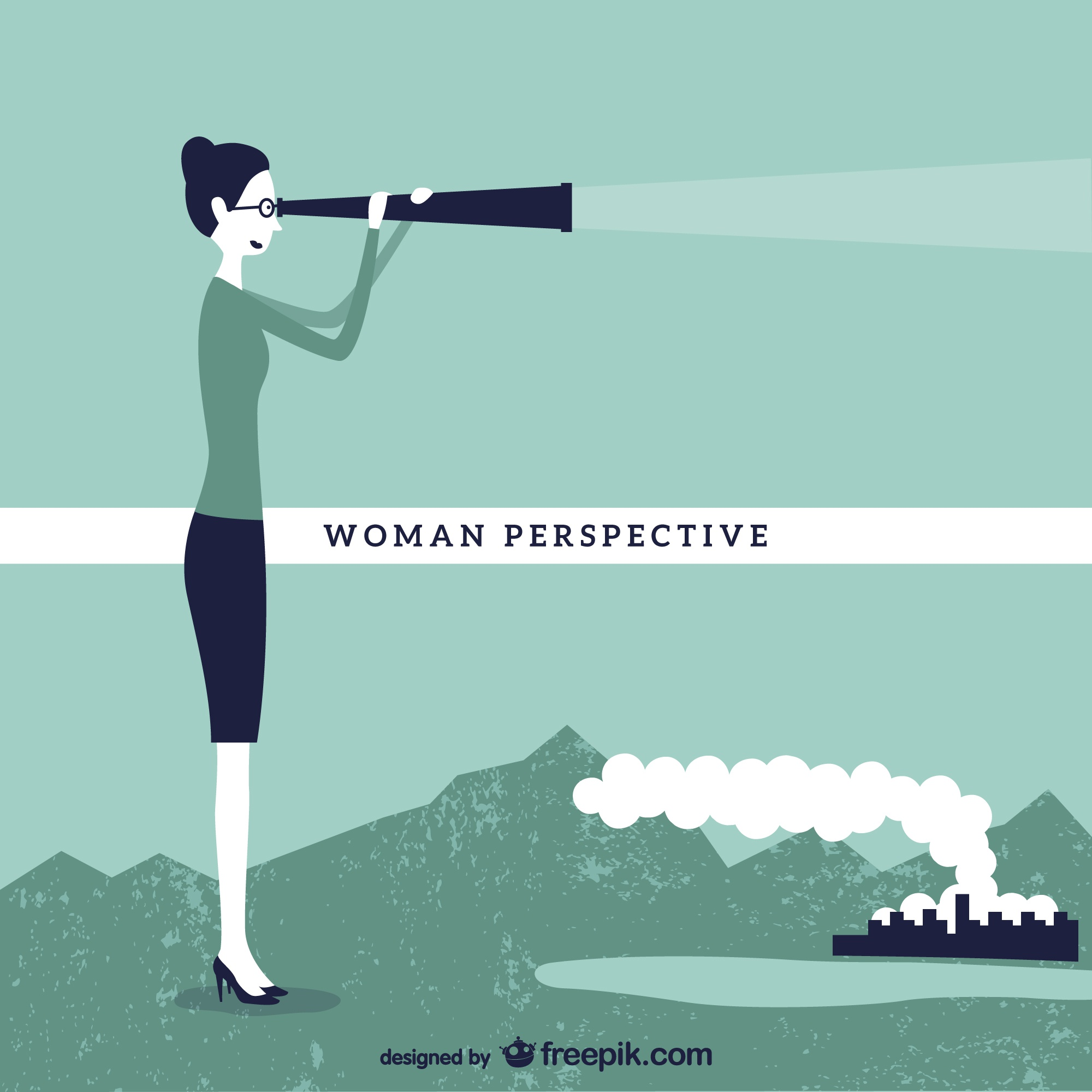 Woman's perspective concept design