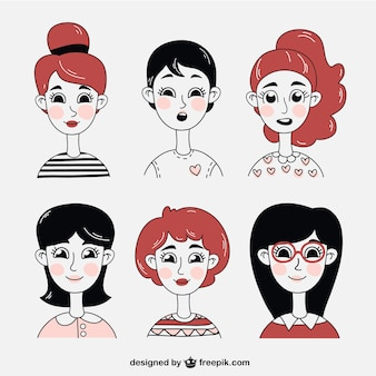 Women illustrations