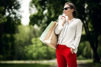 Women people copy sunglasses white space