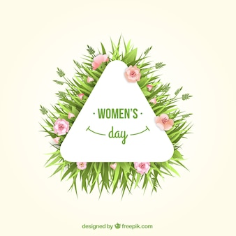 Women's day label