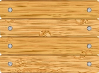 wooden fence with horizontal screwed boards