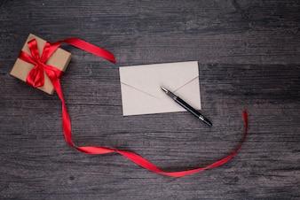 木製フィルターエンベロープの視点紙