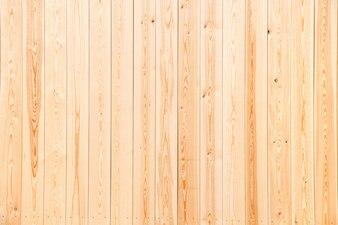 Wooden panels in light original color