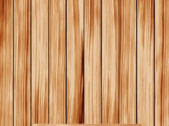 wooden shelf on vertycal wooden background