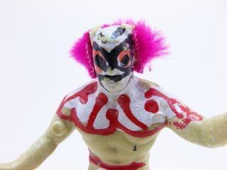 Wrestler clown toy, fun