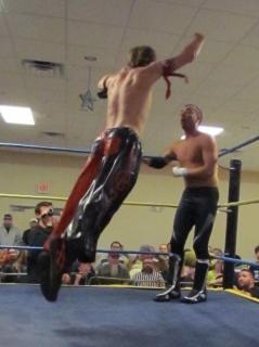 wrestling match  hit