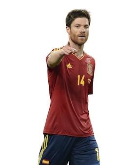 Xabi alonso   spain national team