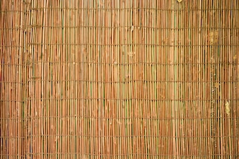 Yellow background wicker macro pattern
