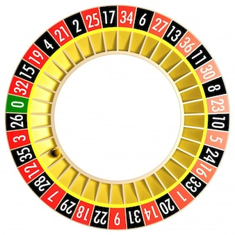 Yellow casino roulette