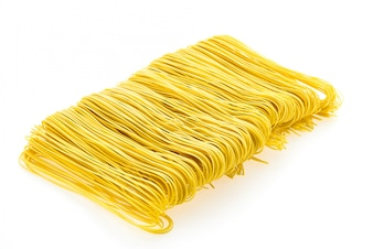Yellow food diet up pasta