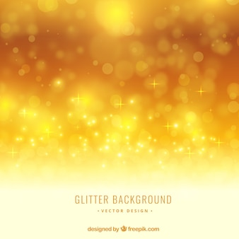 Yellow glitter background
