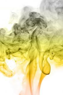 Yellow smoke  magic