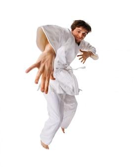Молодой человек в кимоно