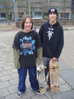 Young Skaters