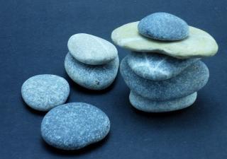 Zen rocks, japanese