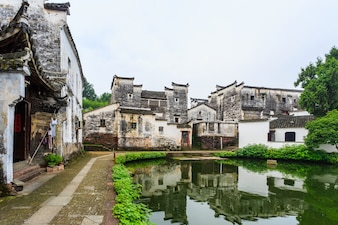 中国の古都ジュージュ