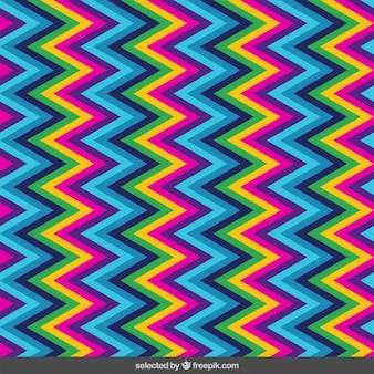 Zig zag lines pattern