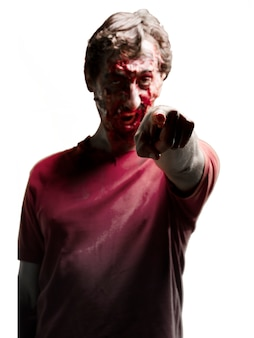 Zombie pointing