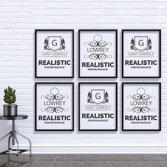 Реалистичная плакат макете