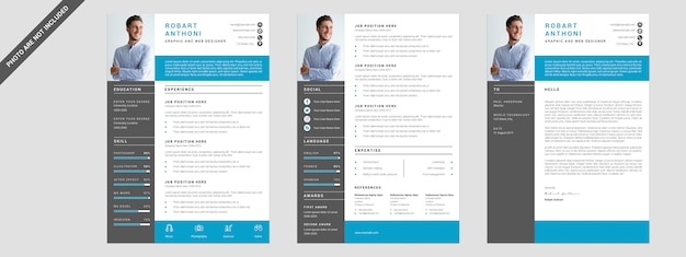 3 pages resume