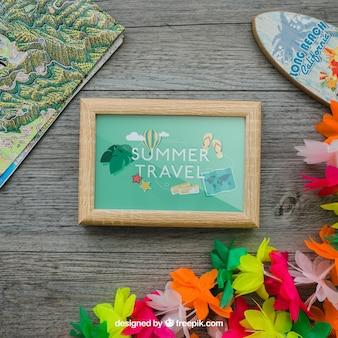 Aloha concept with frame