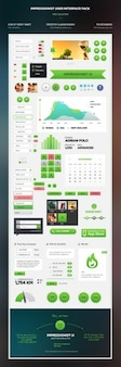 Amazing user Interface kit PSD 2