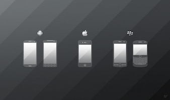 android blackberry icon icons iphone mobile phone