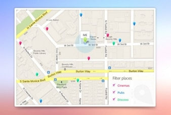 App Google maps template