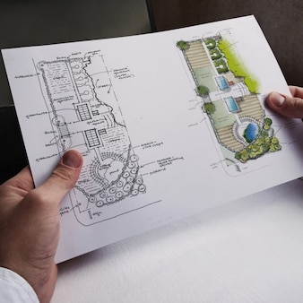 Blueprint realistic presentation