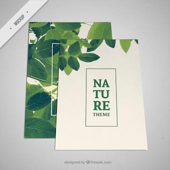 Brochure of nature
