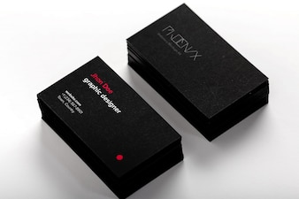 Business cards mock up design