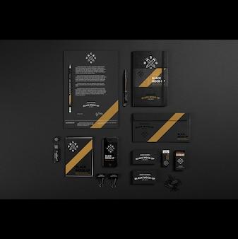 Business stationery mock up design