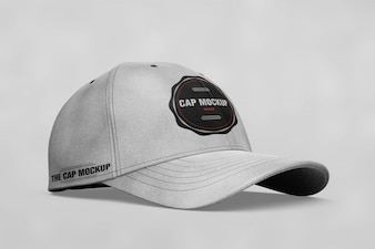 Cap mock up lateral view