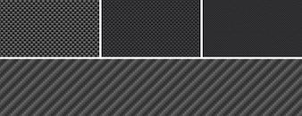 カーボンファイバーのPhotoshopパターン