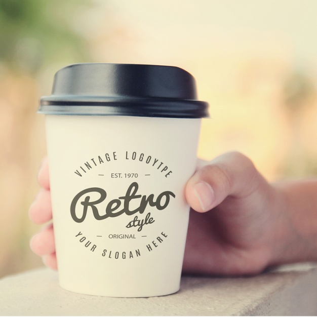 Coffee cup mock up