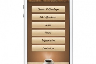 Coffeshop screen for mobile