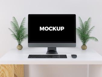Computer mock up